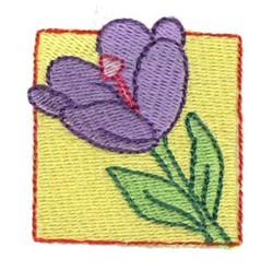 Easter Mini Crocus embroidery design