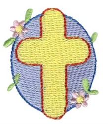 Easter Mini Cross embroidery design