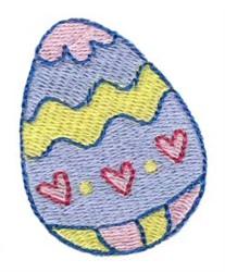 Easter Mini Egg embroidery design