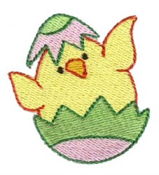 Easter Mini Hatchling embroidery design