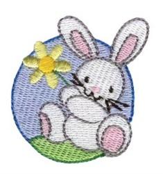 Easter Mini Rabbit embroidery design