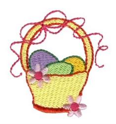 Easter Basket Mini embroidery design