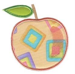Simply Spring Applique Peach embroidery design