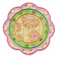 Simply Spring Applique embroidery design