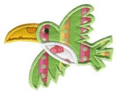 Jungle Daze Toucan Applique embroidery design