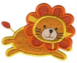 Jungle Daze Lion Applique embroidery design