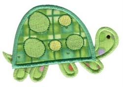 Jungle Daze Turtle Applique embroidery design
