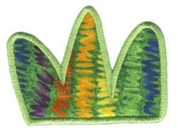 Jungle Daze Bush Applique embroidery design