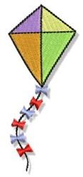 Summertime Kite embroidery design