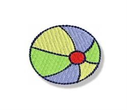 Mini Beach Ball embroidery design