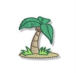 Mini Palm Tree embroidery design