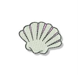 Mini Seashell embroidery design