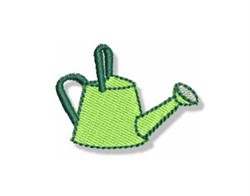 Mini Watering Can embroidery design
