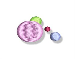 Decorative Group Of Dots embroidery design