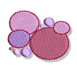 Pastel Dots embroidery design