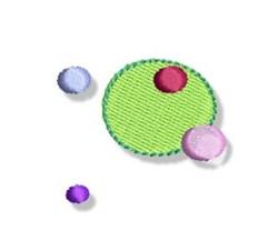 Decorative Dots embroidery design