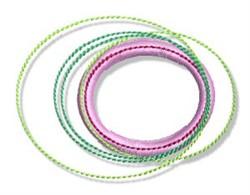Spirals & Dots embroidery design