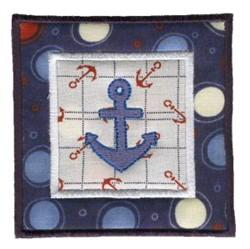 Nautical Applique Quilt Blocks embroidery design