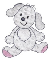 Cartoon Puppy embroidery design