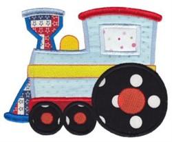 All Aboard  Train Applique embroidery design