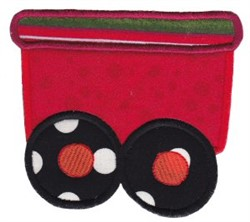 Train Car Applique embroidery design