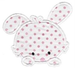 All Aboard Bunny Applique embroidery design