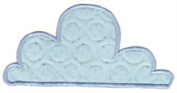 All Aboard Applique Cloud embroidery design