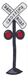 Railroad Crossing Applique embroidery design