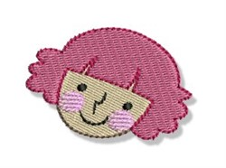 Red Haired Woman embroidery design