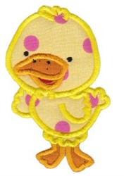 Applique Duck embroidery design