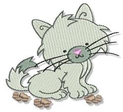 Cuddly Kitten embroidery design