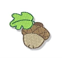 Autumn Mini Acorn embroidery design