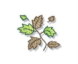 Autumn Mini Tree Branch embroidery design