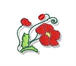 Autumn Mini Flower embroidery design