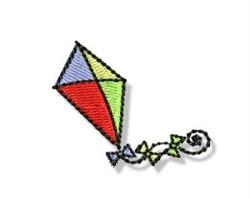 Autumn Mini Kite embroidery design