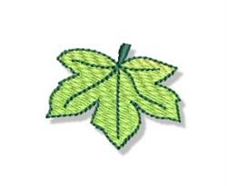 Autumn Mini Maple Leaf embroidery design