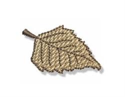 Autumn Mini Elm Leaf embroidery design