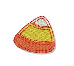 Cute Halloween Candy Corn embroidery design