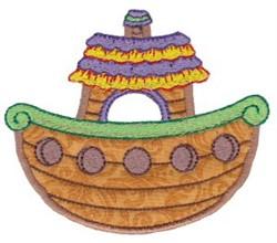 Noahs Ark Applique embroidery design