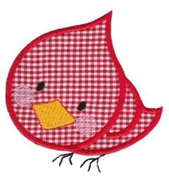 Noahs Ark Cardinal Applique embroidery design