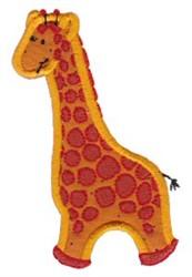 Noahs Ark Giraffe Applique embroidery design