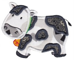 Noahs Ark Cow Applique embroidery design
