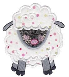 Noahs Ark Sheep Applique embroidery design