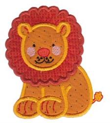 Noahs Ark Lion Applique embroidery design