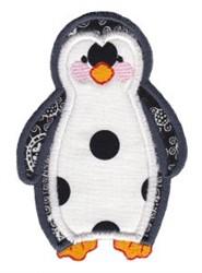 Noahs Ark Penguin Applique embroidery design