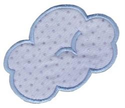 Noahs Ark Cloud Applique embroidery design
