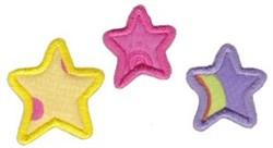 Noahs Ark Star Applique embroidery design