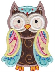 What A Hoot Applique embroidery design