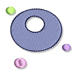 Dotted Dots embroidery design
