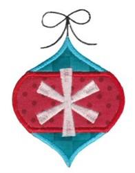 Retro Christmas Ornament Applique embroidery design